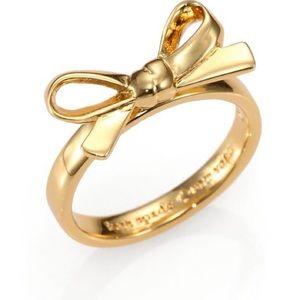 Kate Spade Bow Ring - Gold
